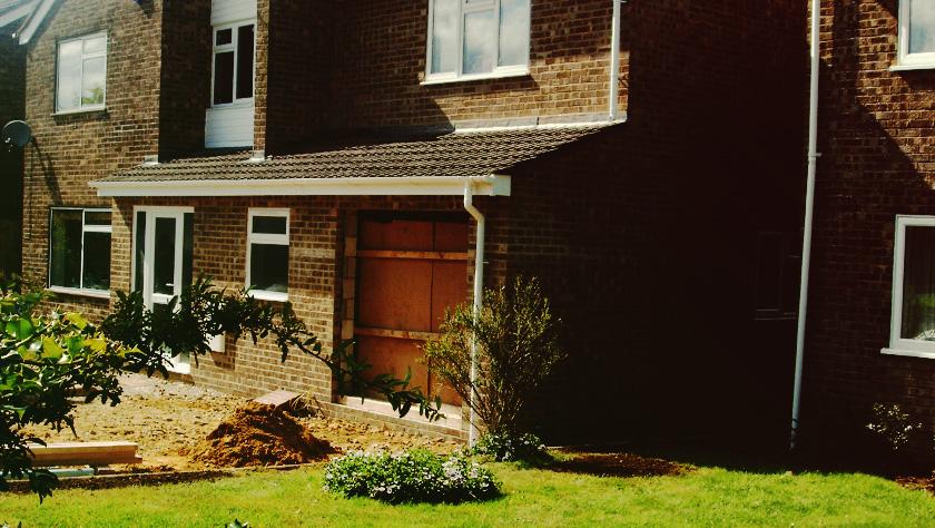 Deddington -  Porch Extension